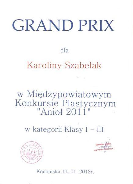 Oglądasz zdjęcia do artykułu: NASZE SUKCESY ROK SZKOLNY 2011/2012